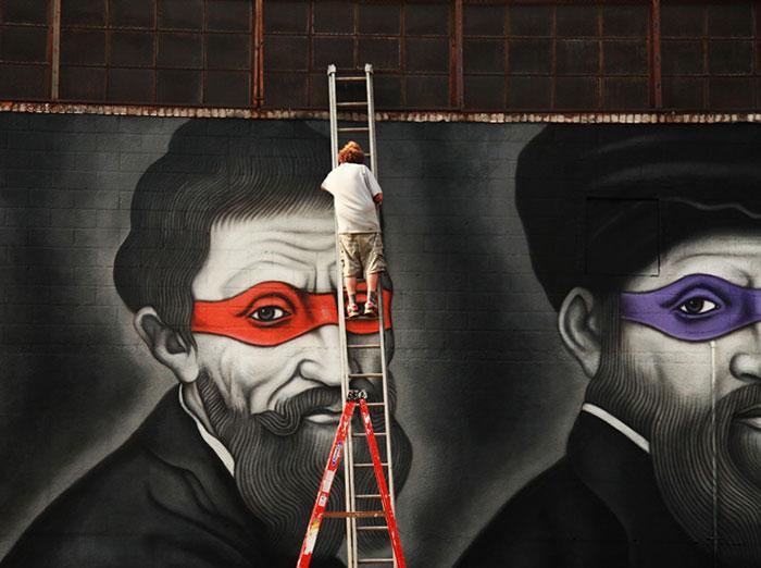 renaissance-artists-teenage-mutant-ninja-turtles-mural-owen-dippie-new-york-2