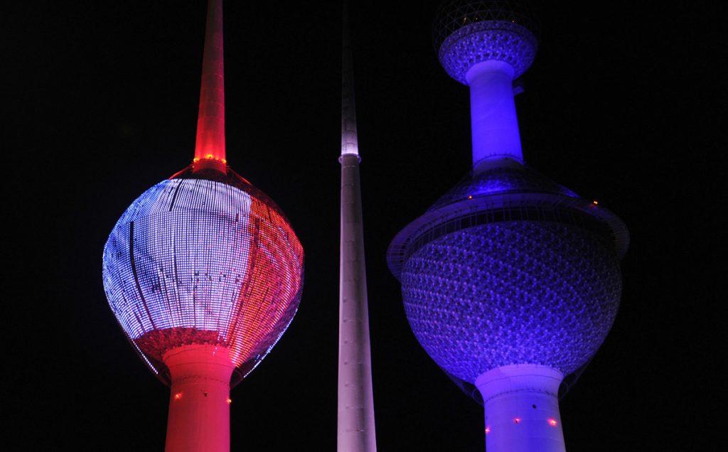 Емблематичните кули на Кувейт Сити