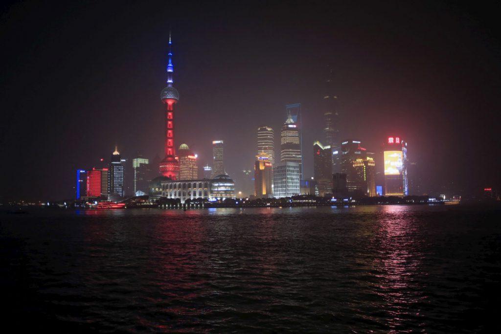 ТВ кулата Oriental Pearl в Шанхай