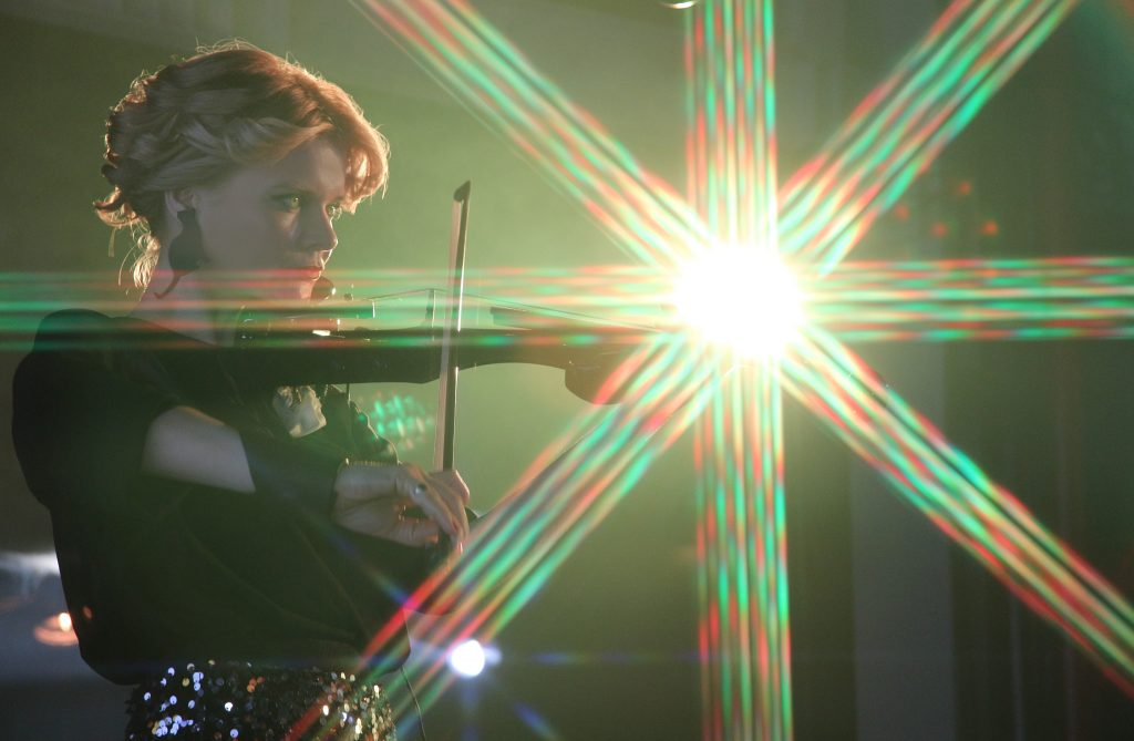 Прекрасната Радина Радева ни плени с изпълнението си на цигулка