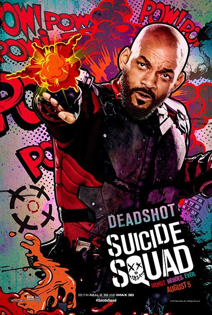 Уил Смит като Deadshot