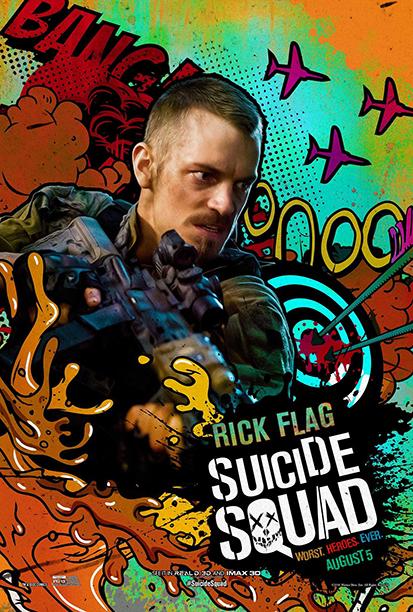 Джоел Кинаман като Rick Flag