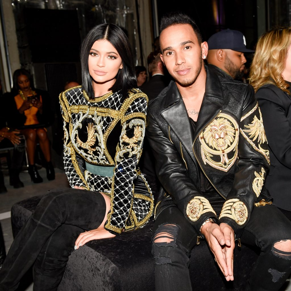 Kylie Jenner, Lewis Hamilton