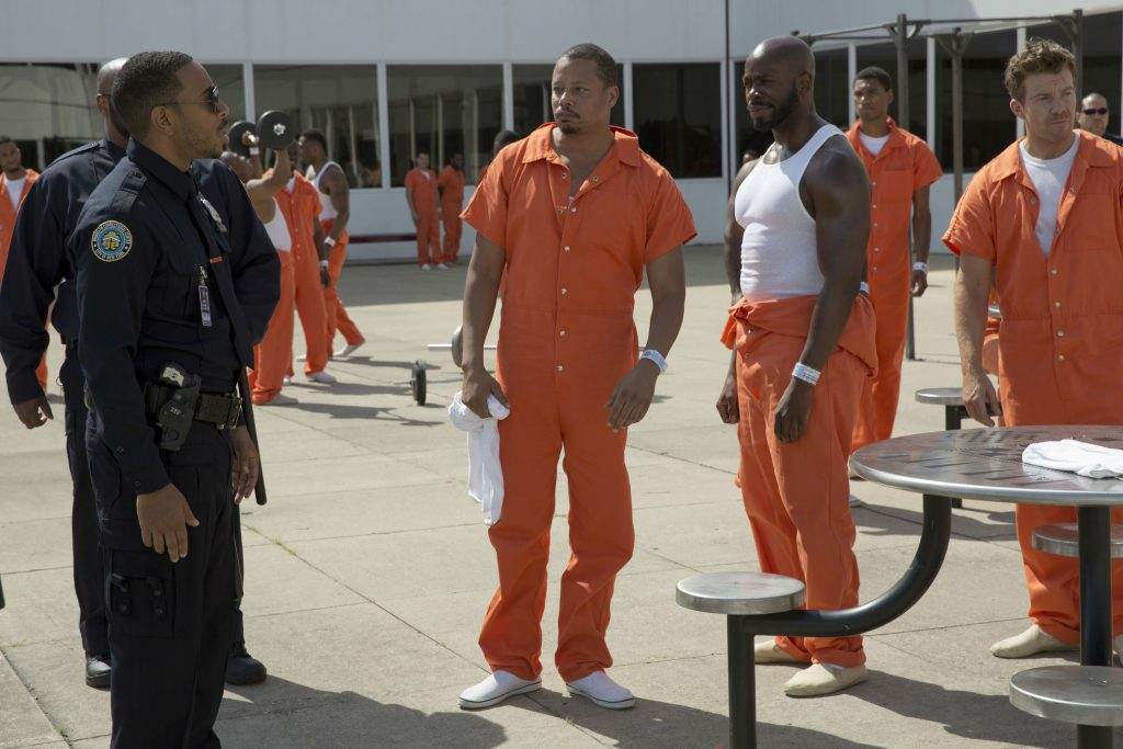 Empire-S2-Ep2-pic-1-Ludacris-as-Officer-McKnight-and-Terrence-Howard-as-Lucious-Lyon