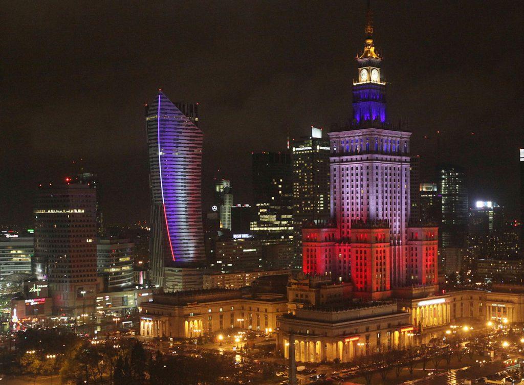 Дворецът на културата във Варшава
