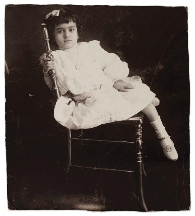 Фрида Кало вече на 5-годишна възраст (1912)