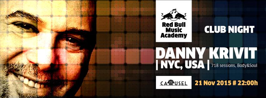 RBMA Club Night DANNY KRIVIT