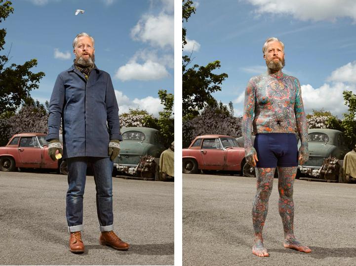 """Алекс (49): """"Когато се татуирах за първи път, майка ми не бе никак щастлива. Аз обаче й казах - """"виж, мамо, това не означава, че продавам хероин на улицата""""."""