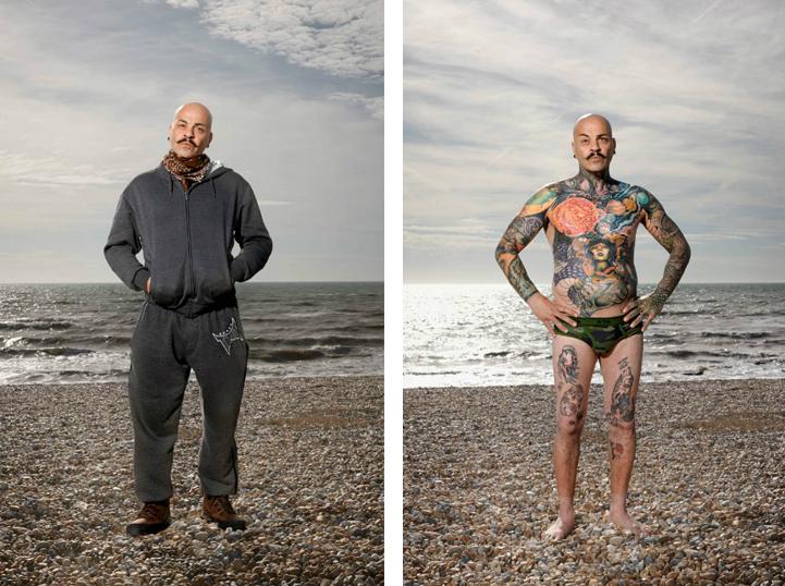 """Юнсал (46): """"Вече съм отминал момента, когато бих спрял да се татуирам. Наистина боли, но за нищо на света не бих сменил начина, по който изглеждам""""."""