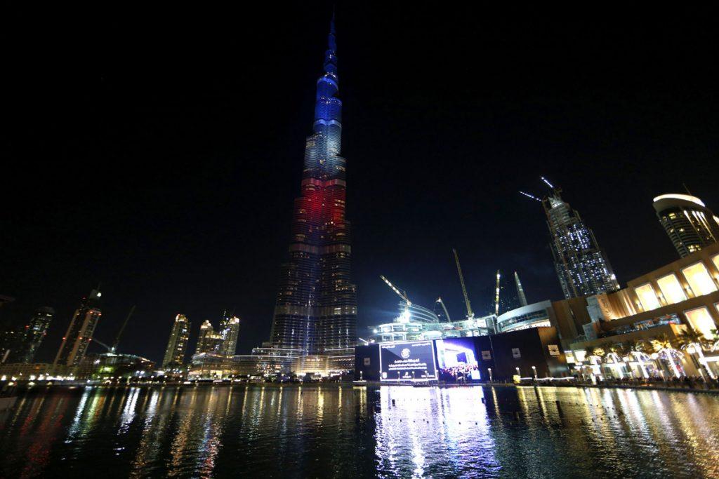 Най-високата сграда в света - Бурдж Халифа в Дубай