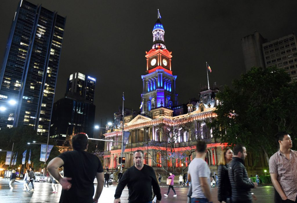 Сградата на градския съвет в Сидни