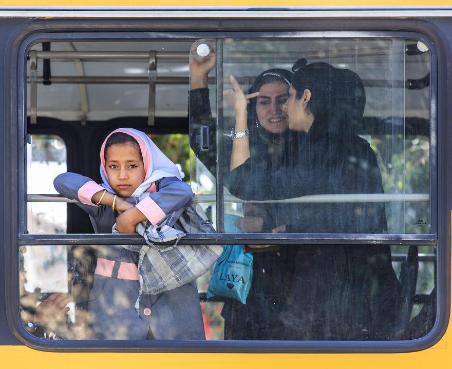 Градски транспорт в Шираз