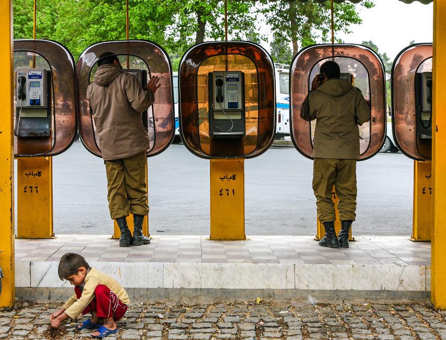 Телефонни будки в Техеран