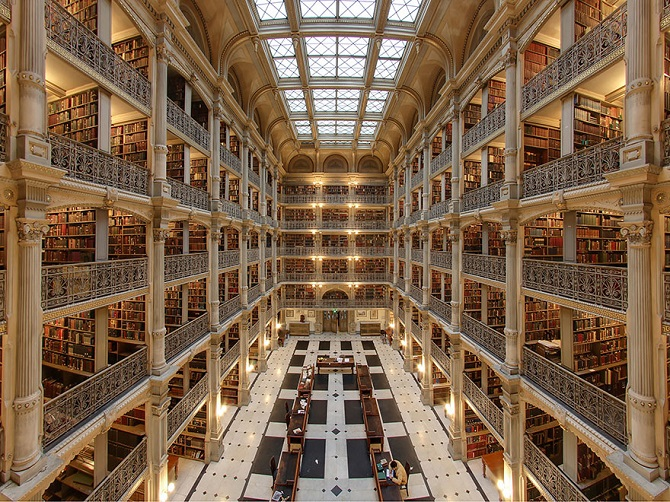 8-George-Peabody-Library-Baltimore-Maryland-Usa