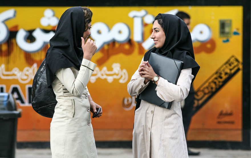 Красиви момичета в Шираз