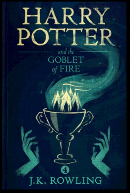 """""""Хари Потър и Огненият бокал"""" от Оли Мос"""