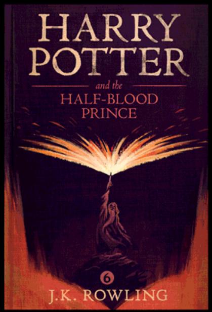 """""""Хари Потър и Нечистокръвния принц"""" от Оли Мос"""