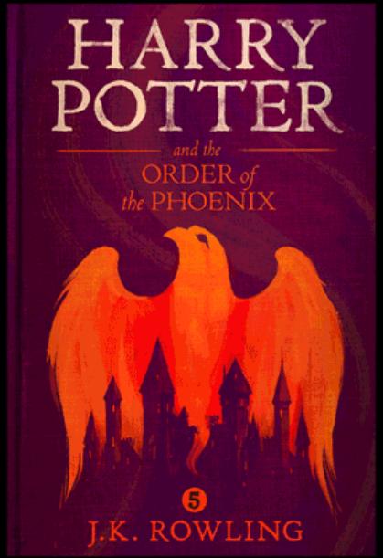 """""""Хари Потър и Орденът на феникса"""" от Оли Мос"""