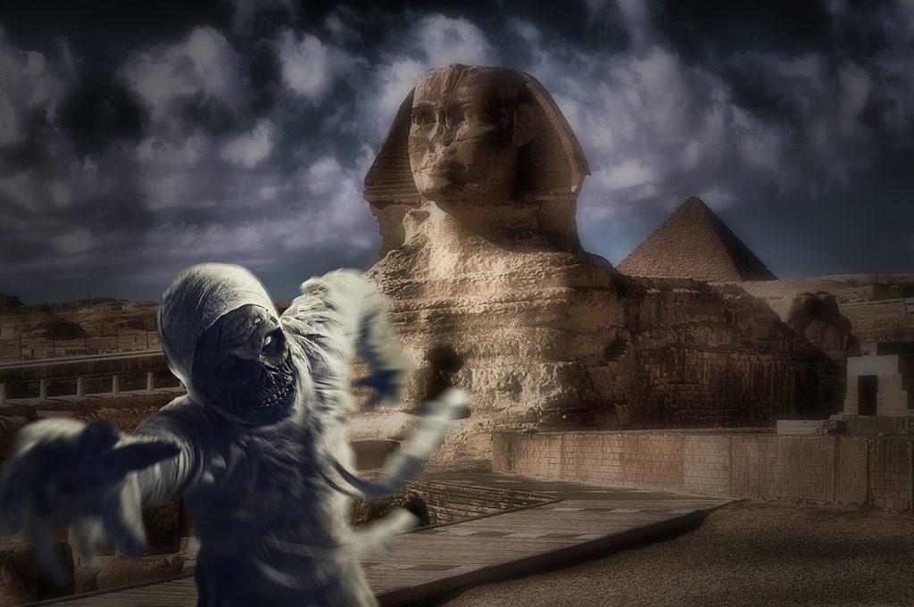Сфинксът в Египет