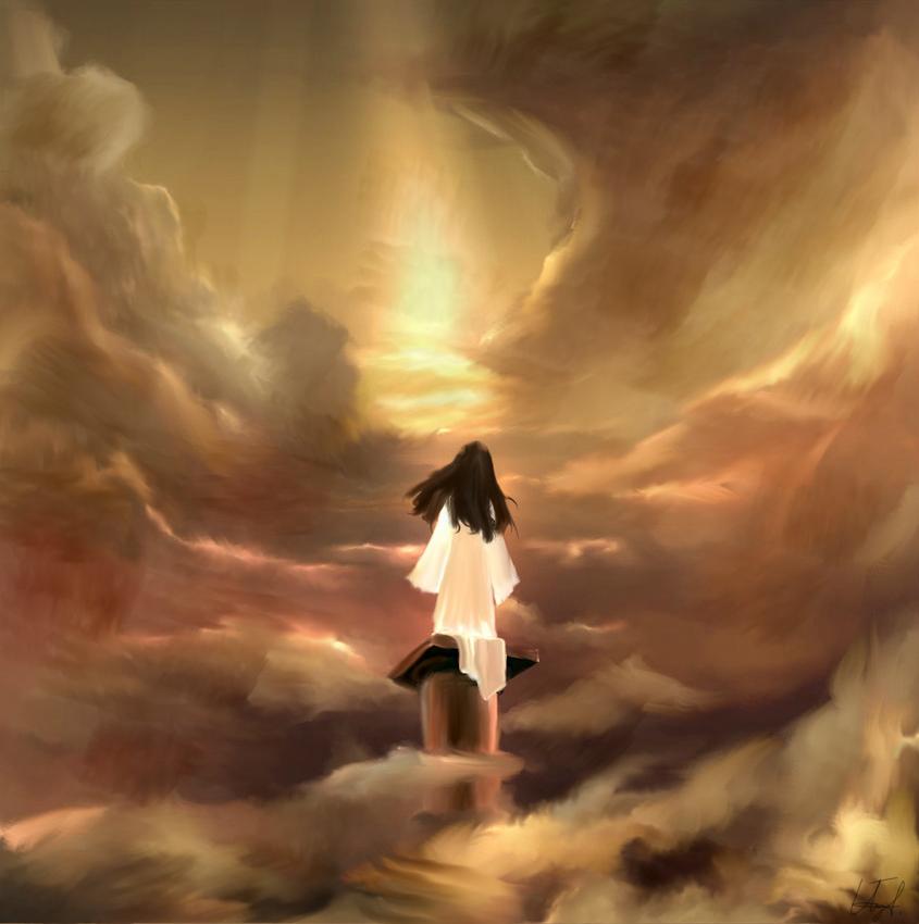 """""""Вяра и любов"""" - още една от рисунките на Ива, наградени с първо място на конкурс"""