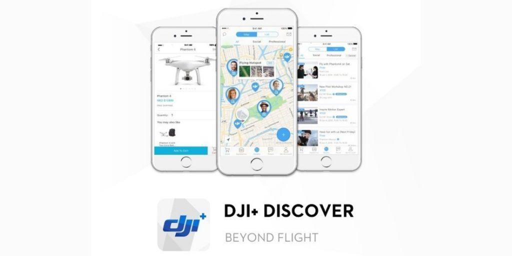 DJI+ Discover