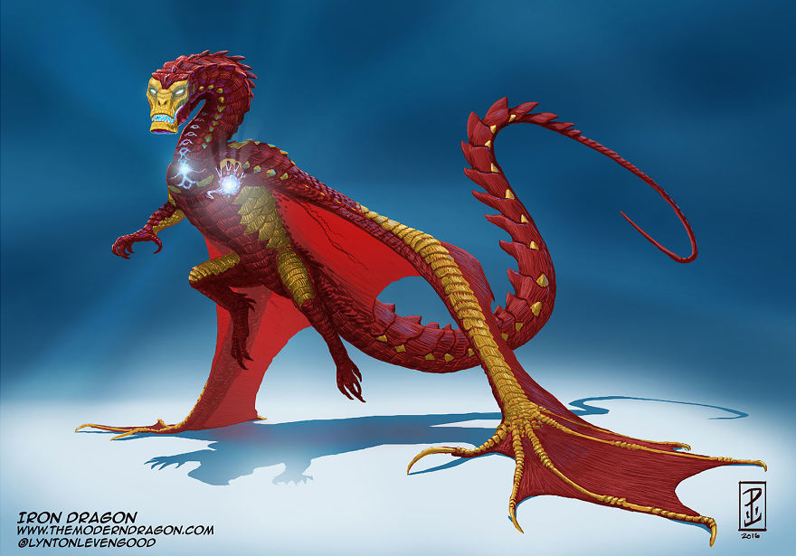 I-Re-Imagined-Popular-Comic-Characters-as-Dragons-571f3cc75c7fd__880