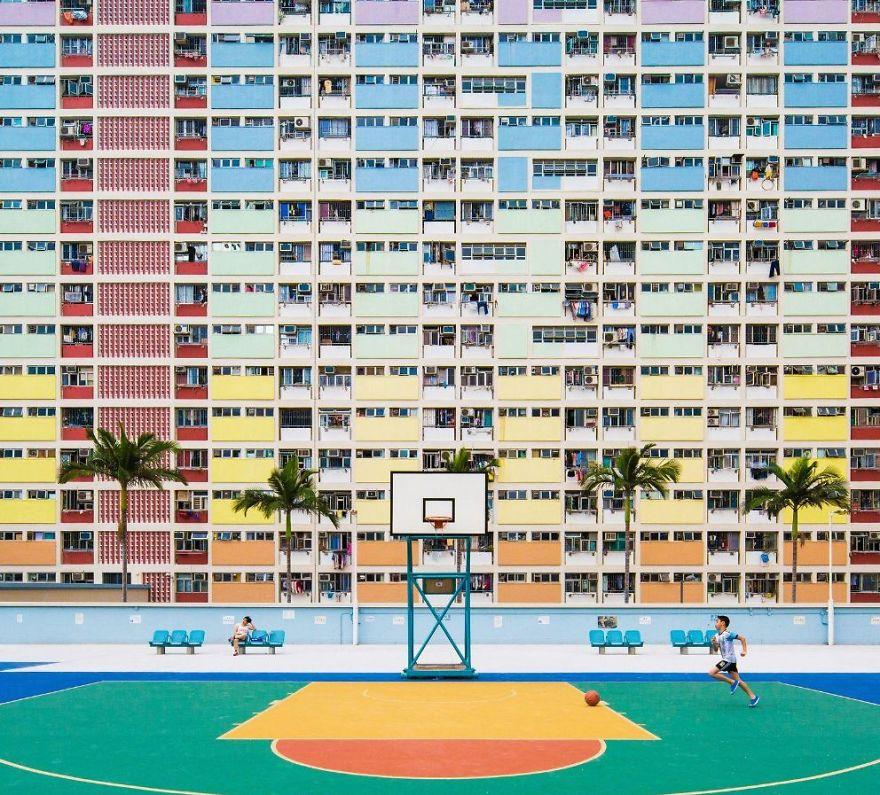 Балкони и баскетбол (Китай)