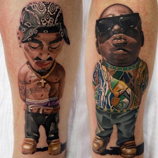 Хип-хопът от 90-те години е абсолютно несравним, а Tupac и The Notorious B.I.G. бяха неговите лица
