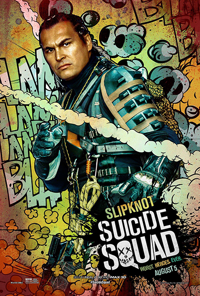 Адам Бийч като Slipknot