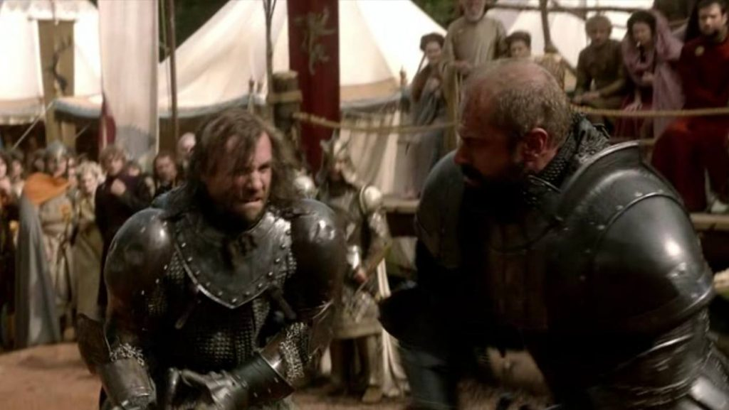 The-Hound-Rory-McCann-and-The-Mountain-Conan-Stevens-in-GOT-1x05
