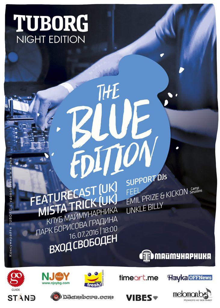 Tuborg Blue Edition Poster - Featurecast Mista Trick