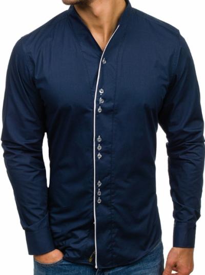 1cecca6b0c4 Мъжките ризи с дълъг ръкав са определено идеални за сезона. Едно от  най-актуалните предложения през последните години е деним ризата.